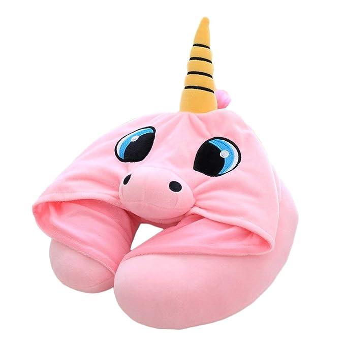 Cojín de Unicornio reposa cabeza