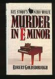 Murder in E Minor, Robert Goldsborough, 0553051237