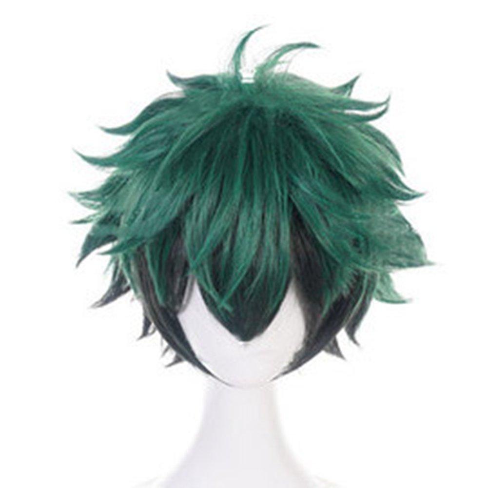 Phoetya Izuku Midoriya Cosplay Wigs My Hero Academia Costume Play Wigs Halloween Anime Cosplay Wigs by Phoetya