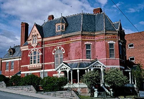 Roadside America Photo Collection | 2004 Copper King Mansion Bed and Breakfast, Angle 1, Granite & Davis, Butte, Montana | Photographer: John Margolies | Historic Photographic Print 36in x 24in