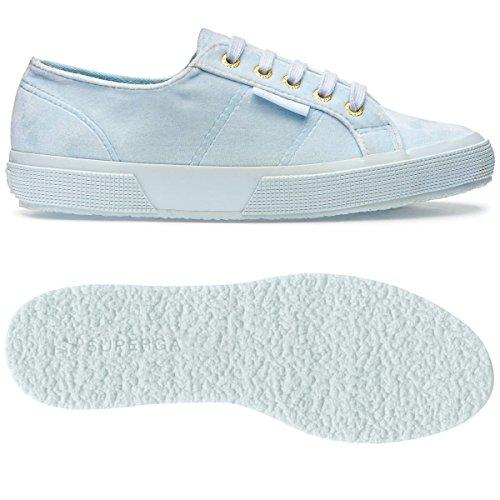 Sneaker 2750 Azure Donna Polyvelvtw Lt Superga xq1CYwYE