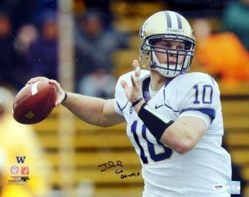 Jake Locker Signed 16 x 20 Photograph Washington Huskies Go Dawgs - Certified Genuine Autograph By PSA/DNA - Autographed Photo