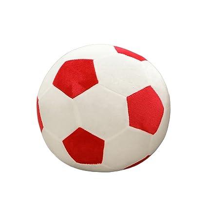 TOYANDONA Pelota de fútbol Almohada Decorativa cojín Suave Peluche ...