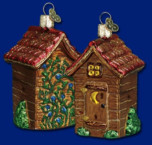 Old World Christmas Outhouse Ornament (Outhouse Ornaments)