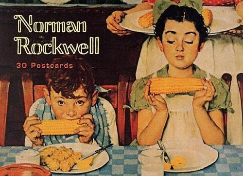 Norman Rockwell: 30 Postcards (Gift Line)
