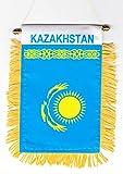 Kazakhstan - Window Hanging Flag