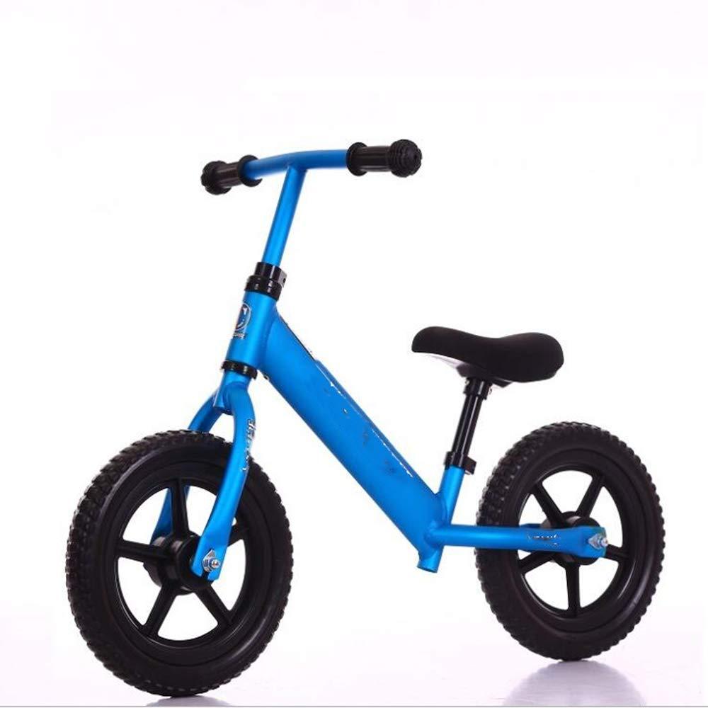 WEYQ Bicicletta per Bambini in tuttiuminio Senza tuttienamento a Pedale età 12 Bicicletta per Bambini per Bambino 1,5-5 Anni Bicicletta da Spingere per Bambino e Ragazza con polimero Eva,F