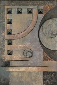 Graphics International Abstract 3 Dimensional Wall Art, Grey