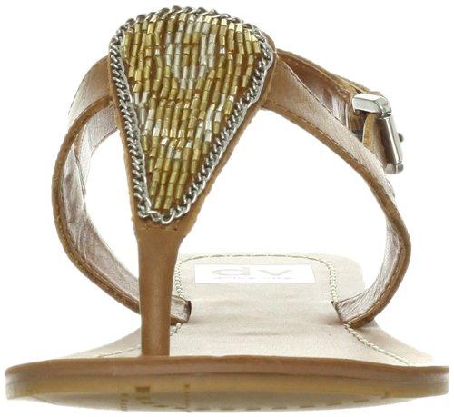 Dv By Dolce Vita Dames Domino String Sandaal Cognac Leer