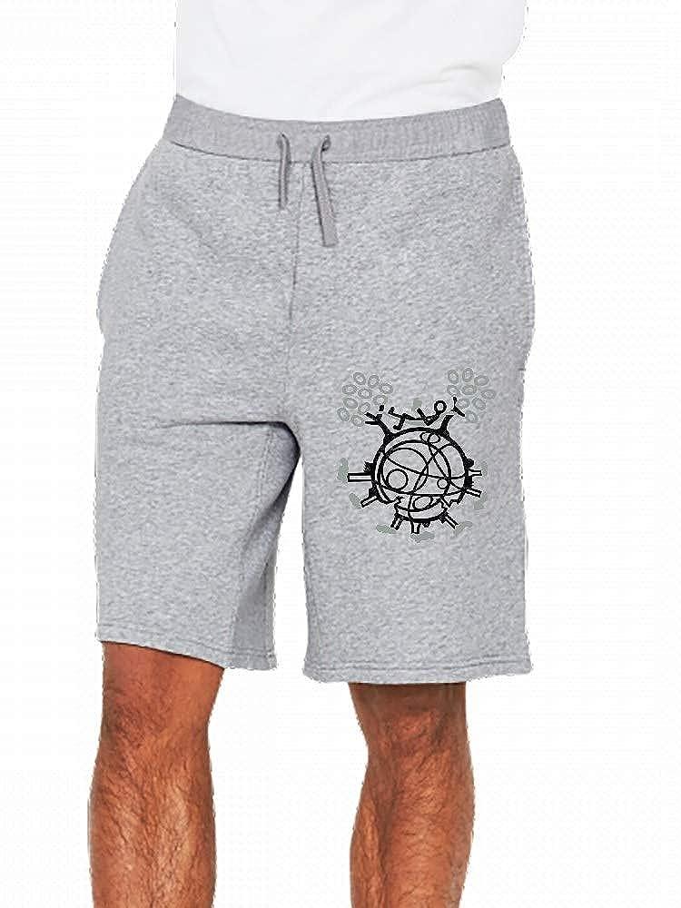 Tech Earth Breaking Apart 2 Color Mens Casual Shorts Pants
