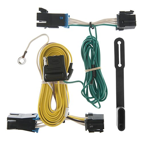 CURT 55352 Vehicle-Side Custom 4-Pin Trailer Wiring Harness for Select Buick, Chevrolet, Oldsmobile Wagons