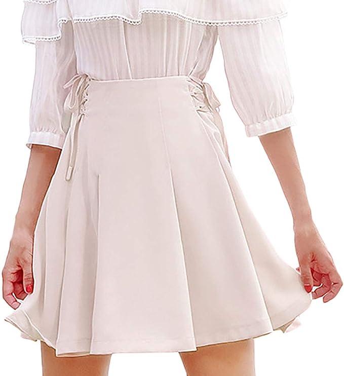 Faldas Mujer Primavera Otoño Elegantes Minifalda Fashion Unicolor ...