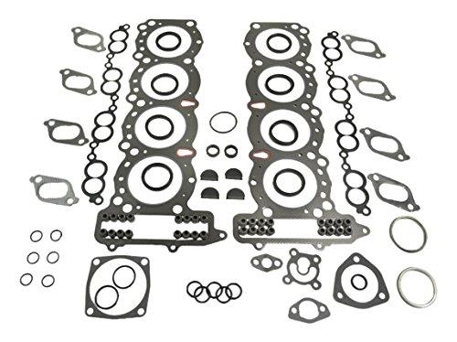 (ITM Engine Components 09-10573 Cylinder Head Gasket Set for 1990-1996 Infiniti 4.5L V8, VH45DE/Q45)