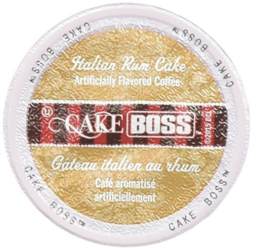 Cake Boss Coffee, Italian Rum Cake, 24 Count (Christmas Cake Italian)