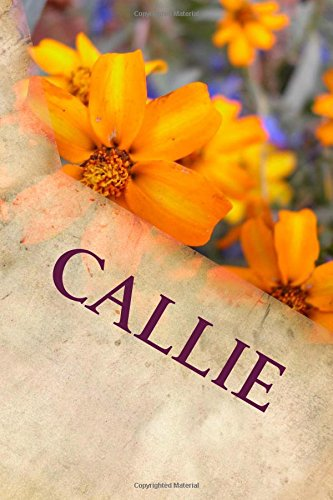 Download Callie: Personalized Name Journal pdf epub