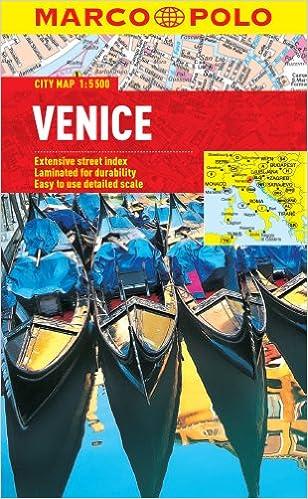 Venice Marco Polo City Map Marco Polo City Maps Marco Polo - Venice city map