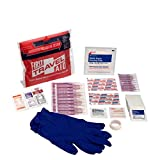 Pac-Kit by First Aid Only 7110 40 Piece Travel First Aid Kit in Waterproof Fabric Case