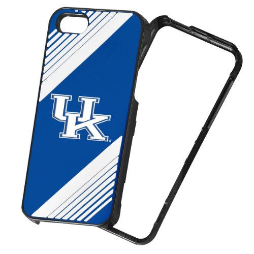 Forever Collectibles NCAA 2-Piece Snap-On iPhone 5/5S Polycarbonate Case - Retail Packaging - Kentucky Wildcats