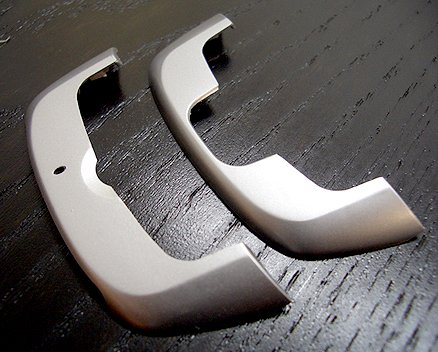 SideKick III (SILVER) SK3 OEM Replacement Repair Side Handle Grip Phone Housing Panels (T-Mobile) ()