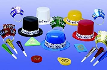 colourful happy new year party kit for 50 perfect for happy new years party