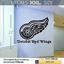Wall Mural Vinyl Sticker Sports Logos Nhl-detroit Red Wings (S530) FRST