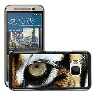 Print Motif Coque de protection Case Cover // V00002196 Ojo de tigre // HTC ONE M9