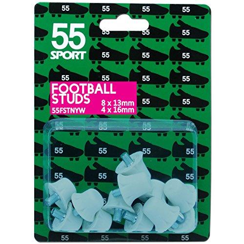 55deporte Copa Mundial de Fútbol studs White Hard Nylon