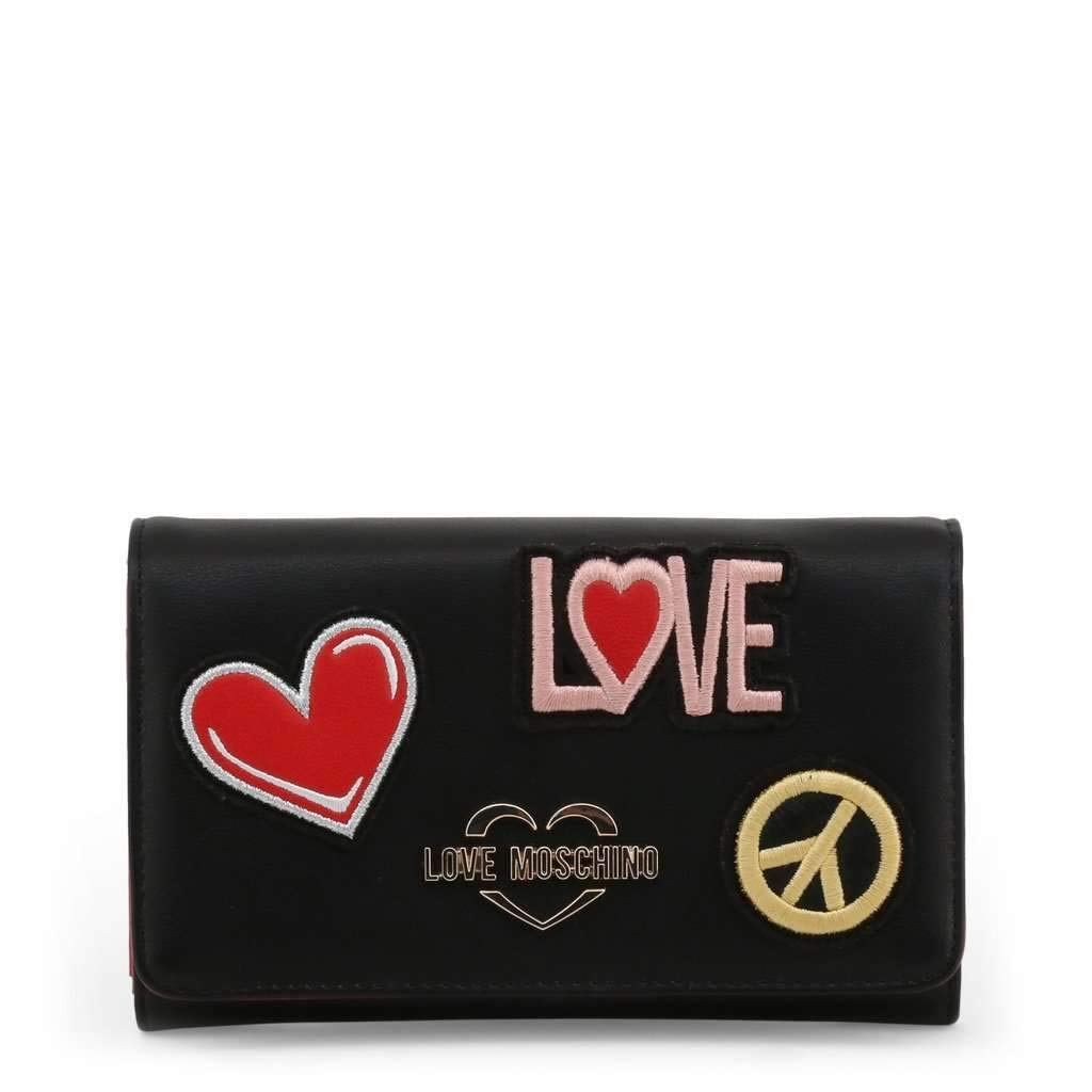 Love Moschino Wallets   B07PMY2FG8