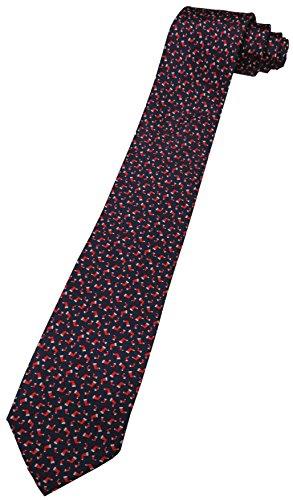 - Tommy Hilfiger Neck Tie Navy Blue w/Christmas Stocking