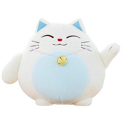 BEST9 Juguete Suave, PP algodón Panda Juguetes de Felpa para la decoración del Coche Relleno muñeca Azul 18CM: Juguetes y juegos