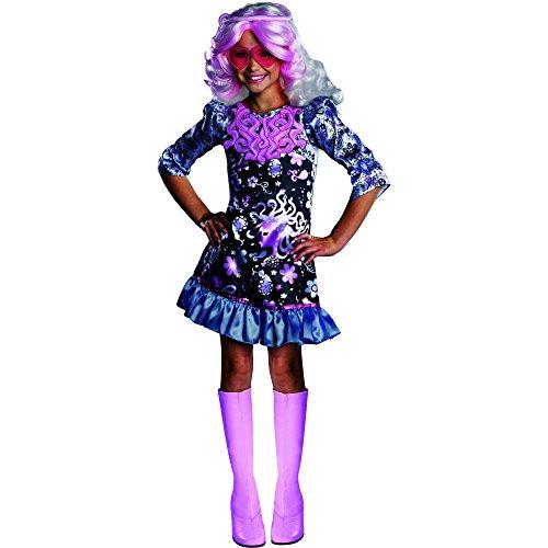 Monster High Bratz (Rubies Monster High Frights Camera Action Viperine Gorgon Costume, Child Medium)