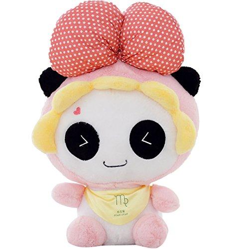 "Sunny World Cute Panda Cosplay Virgo Doll -15.7"" Plush Stuffed Animal Toy"