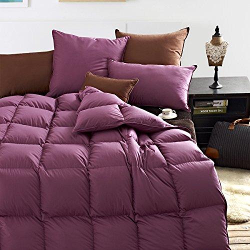 snowman bedding king size goose down comforter baffle box construction 65oz purple bedroom store. Black Bedroom Furniture Sets. Home Design Ideas
