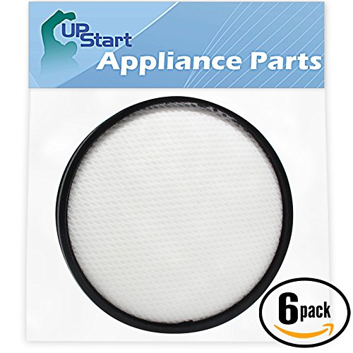 6-Pack Replacement Hoover Air Steerable Bagless Upright UH72400 Vacuum Primary Filter - Compatible Hoover Windtunnel 303903001 Primary Filter