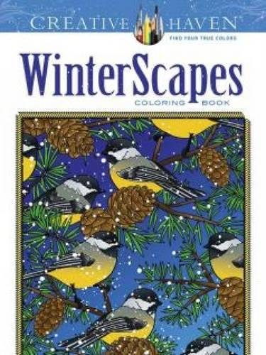 Coloring Books for Seniors: Including Books for Dementia and Alzheimers - Creative Haven WinterScapes Coloring Book (Adult Coloring)