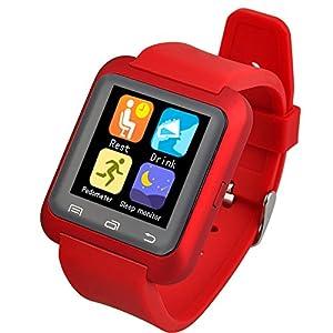 Amazon.com: 5ive® U80 Bluetooth 4.0 Smart Wrist Wrap Watch ...