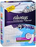Always Discreet Bladder Protection Pads Long Length Maximum Absorbency - 3pks of 39, Pack of 3