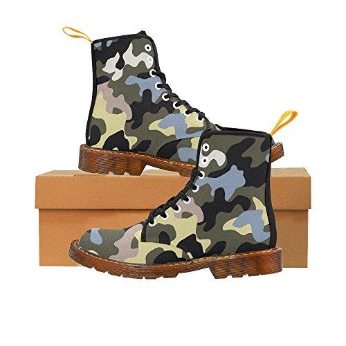Rentprint Graffiti Martin Boots Fashion Schoenen Voor Dames Camo
