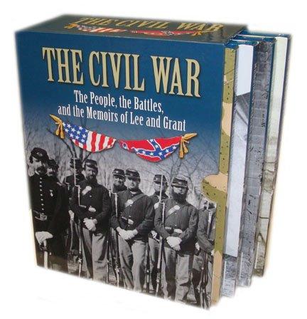 The Civil War 4 Books Box Set