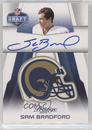 Sam Bradford (Football Card) 2010 Playoff Prestige - Pro Helmets Autographs #NFL-SB
