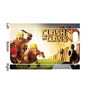 Generic For Apple Iphone 4S 4 Th Print With Clash Of Clans Creativity Back Phone Covers For Teen Girls Choose Design 1-1