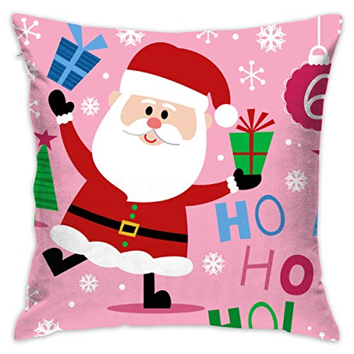 (LMHB Christmas Santa Clipart Personalized Premium Novelty Pillowcases Covers 1818 Inch)
