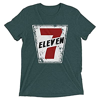 Cheap 7-Eleven Men's Retro Distressed T-Shirt hot sale