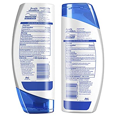 Head and Shoulders Smooth and Silky Anti-Dandruff Shampoo