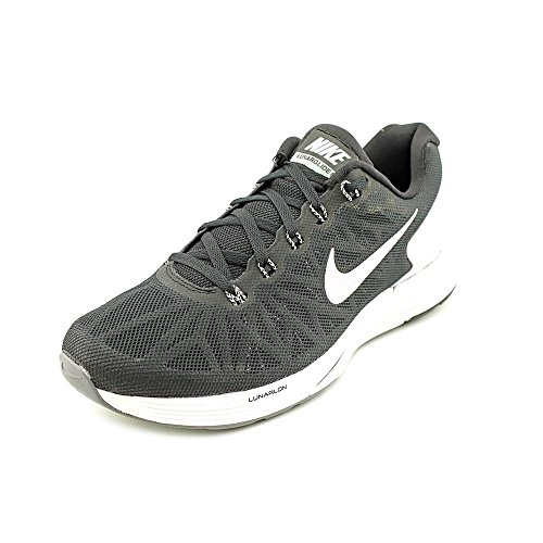 size 40 37e08 8d829 Nike Women s Lunarglide 6 Black White Pr Platinum Cl Gry Running Shoe 9  Women US - Buy Online in Oman.   Shoes Products in Oman - See Prices, ...
