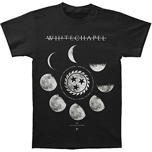 Whitechapel Men's Psychle T-shirt XX-Large Black