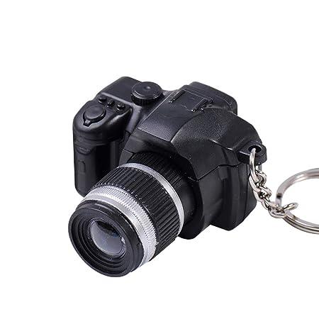 CactusAngui - Llavero con luz LED para cámara réflex Digital con ...