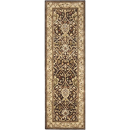 Safavieh Persian Legend Collection PL819J Handmade Traditional Brown and Beige Wool Runner (2'6