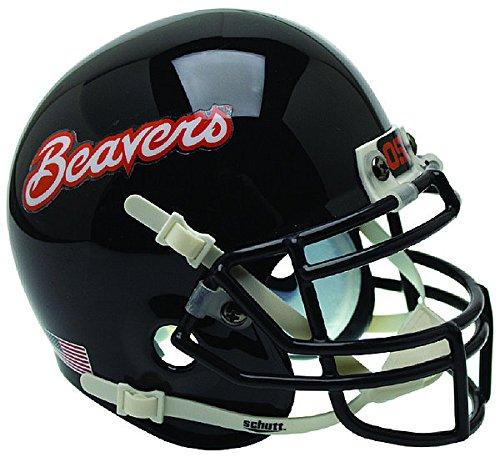 Oregon State Beavers Miniature Football Helmet Desk Caddy Black - NCAA Licensed Gift