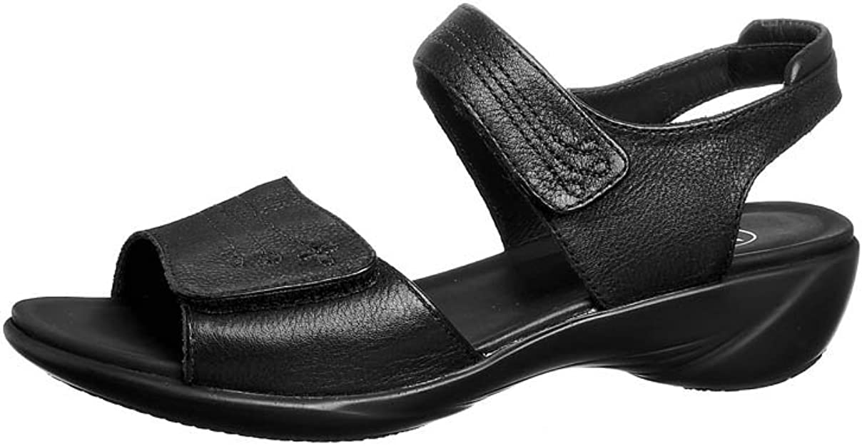 Clarks Open House Black Leather Extra